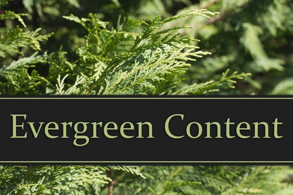 , How to Generate the Best Evergreen Content, Fast Marketing Minute, Fast Marketing Minute