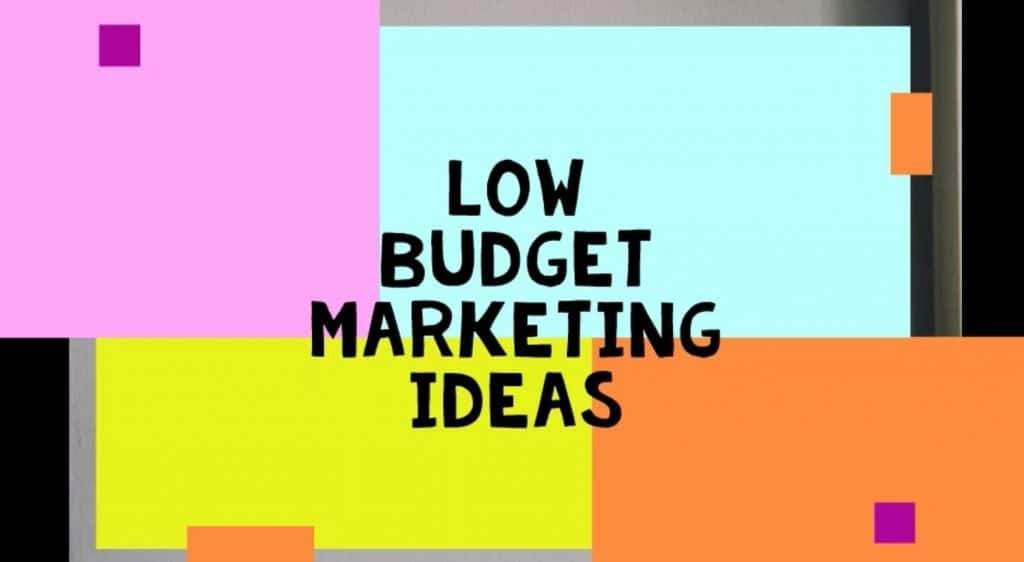 , 5 Low-Budget Digital Marketing Ideas, Fast Marketing Minute