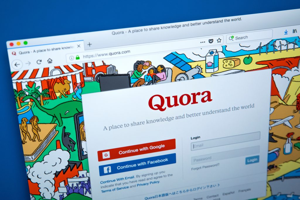 , How to Use Quora's Q + A as a Marketing Tool, Fast Marketing Minute
