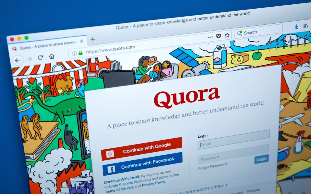 How to Use Quora's Q + A as a Marketing Tool