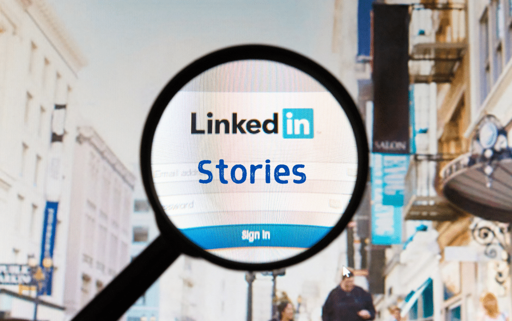 , 5 Marketing Features of LinkedIn's Stories, Fast Marketing Minute