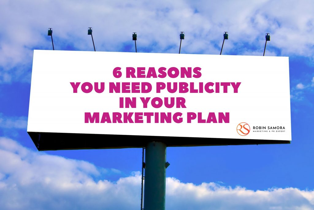 , 6 Reasons You Need Publicity in Your Marketing Plan, Fast Marketing Minute